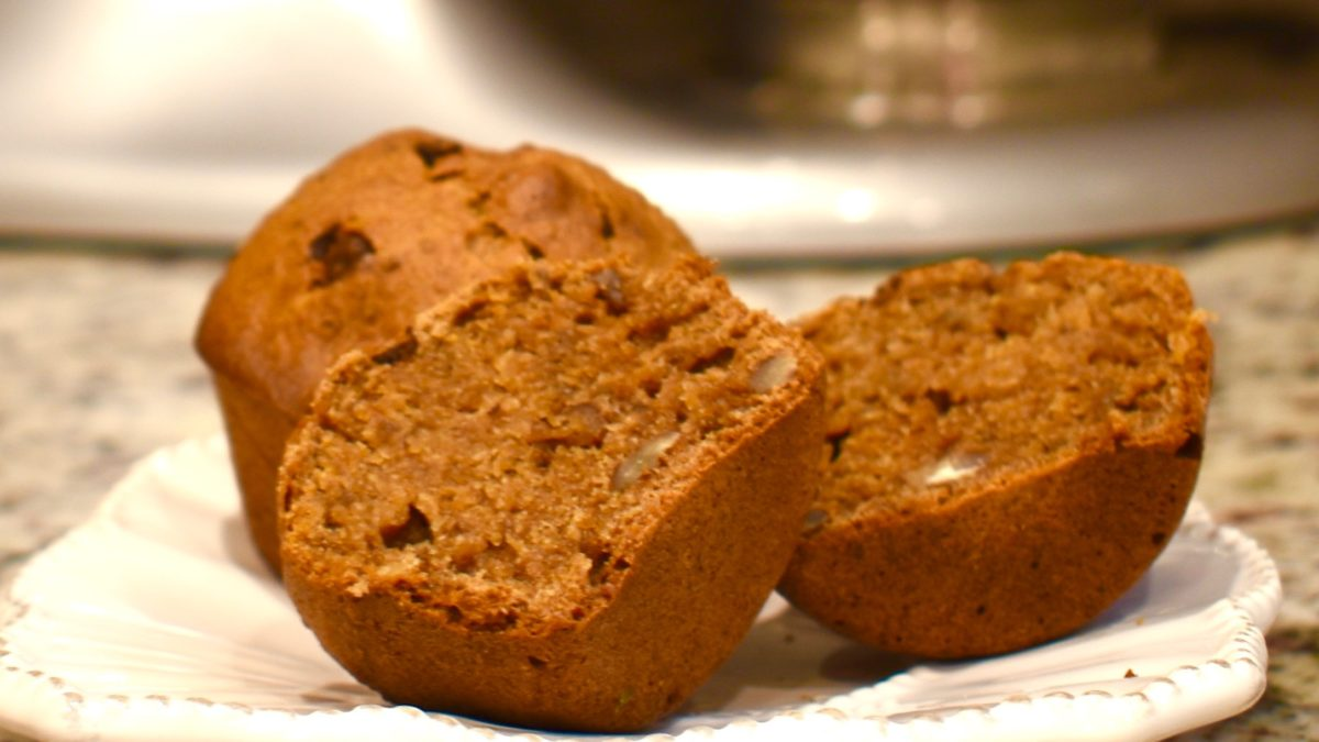 Chocolate Bananabread Muffins